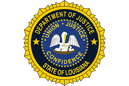 Louisiana Department of Justice Logo