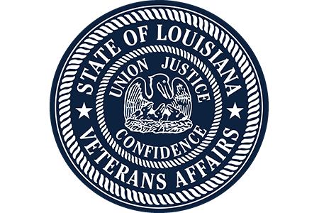 Louisiana Department of Veteran's Affairs Logo